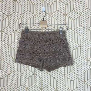 WHISPERS Embroidered Shorts